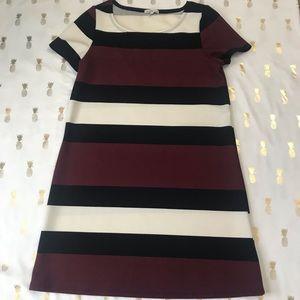 Charlotte Russe Striped Tshirt Dress